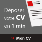 Déposez votre CV en 1 min
